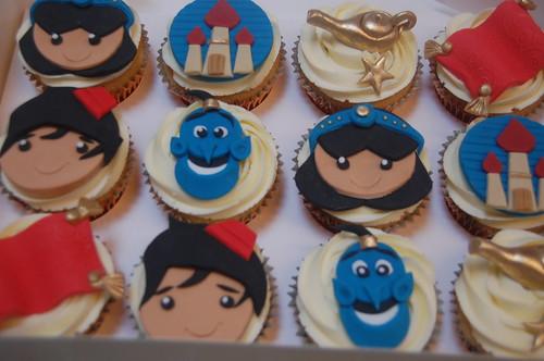Aladdin Cupcakes Beautiful Birthday Cakes
