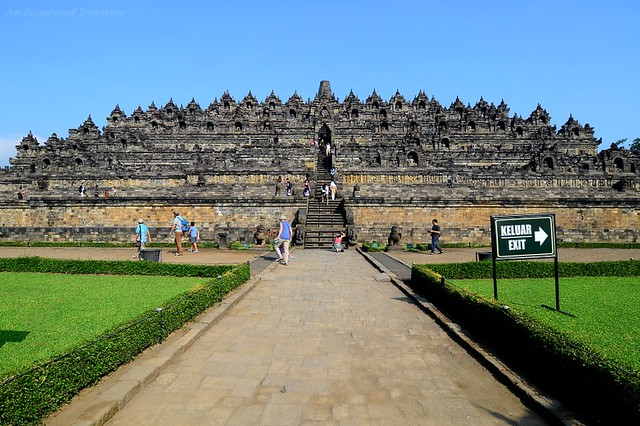 The magnificent Borobudur Temple