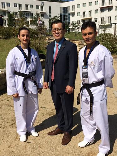 PhD Grão Mestre Hyun Sung Kim - Vice-presidente do KKW e Presidente do WTA - KKW