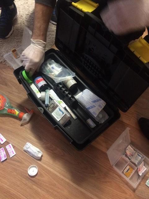На Дніпропетровщині СБУ ліквідувала нарколабораторію з виготовлення метамфетаміну