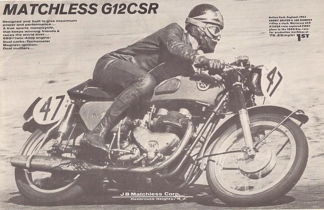 Matchless G12CSR