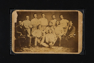 1860 Brooklyn Atlantics Baseball Card front