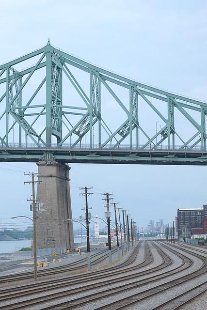 rails et pont
