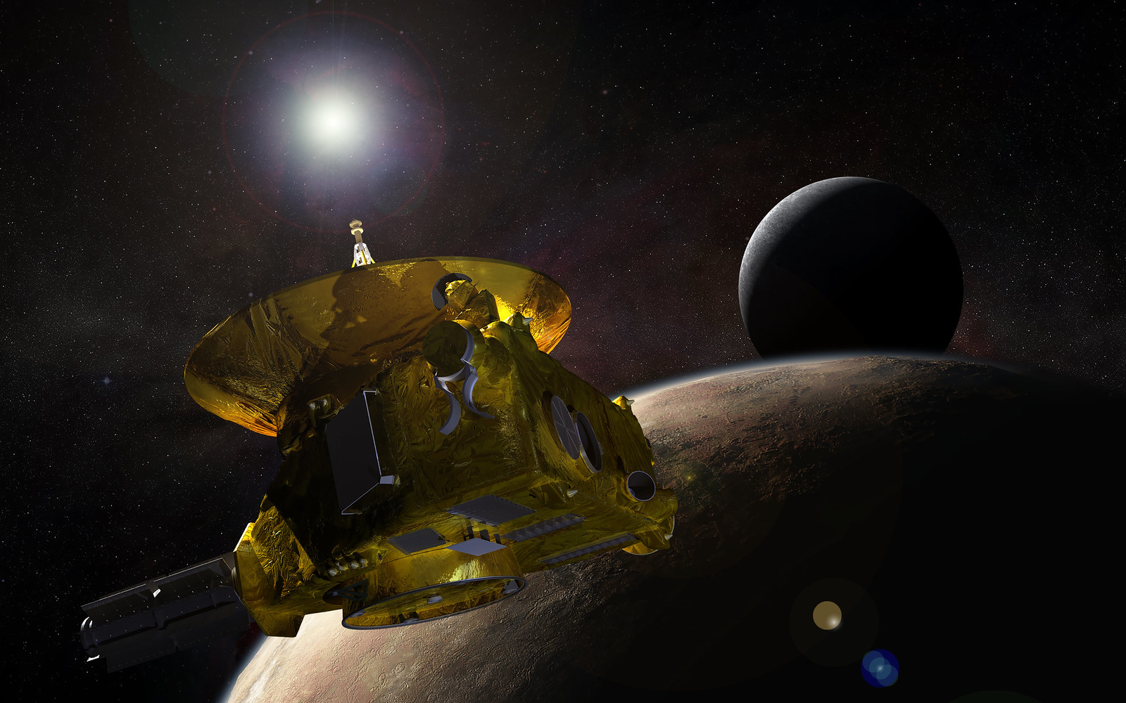New Horizons 3-billion-mile Journey to Pluto Reaches Historic #plutoflyby! | by NASA's Marshall Space Flight Center