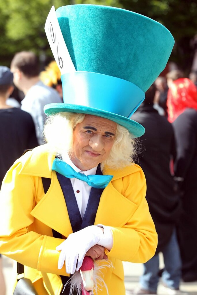 Manchester MCM Comic-Con 2015 - Mad Hatter Cosplay