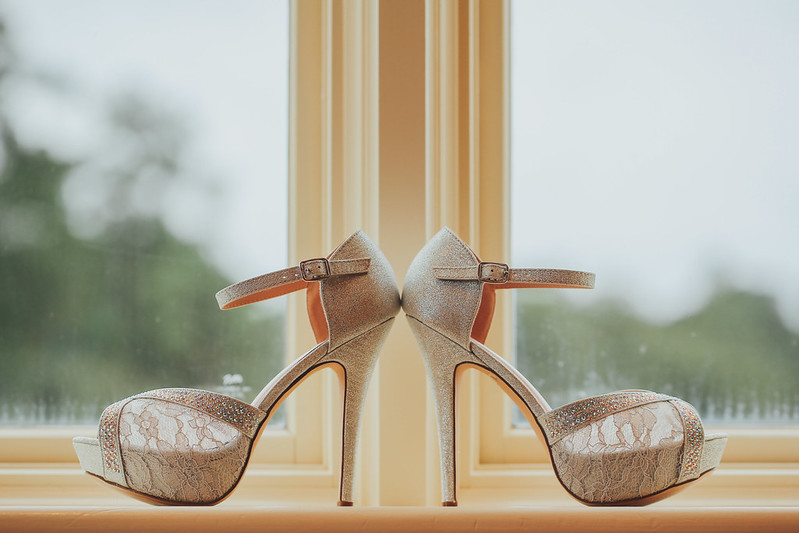 Bryce Lafoon Photography l Wedding shoes