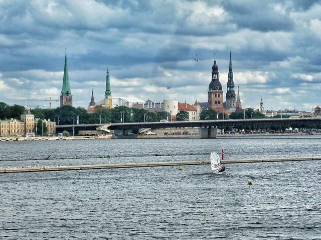 Kipsala, Riga, Daugava River