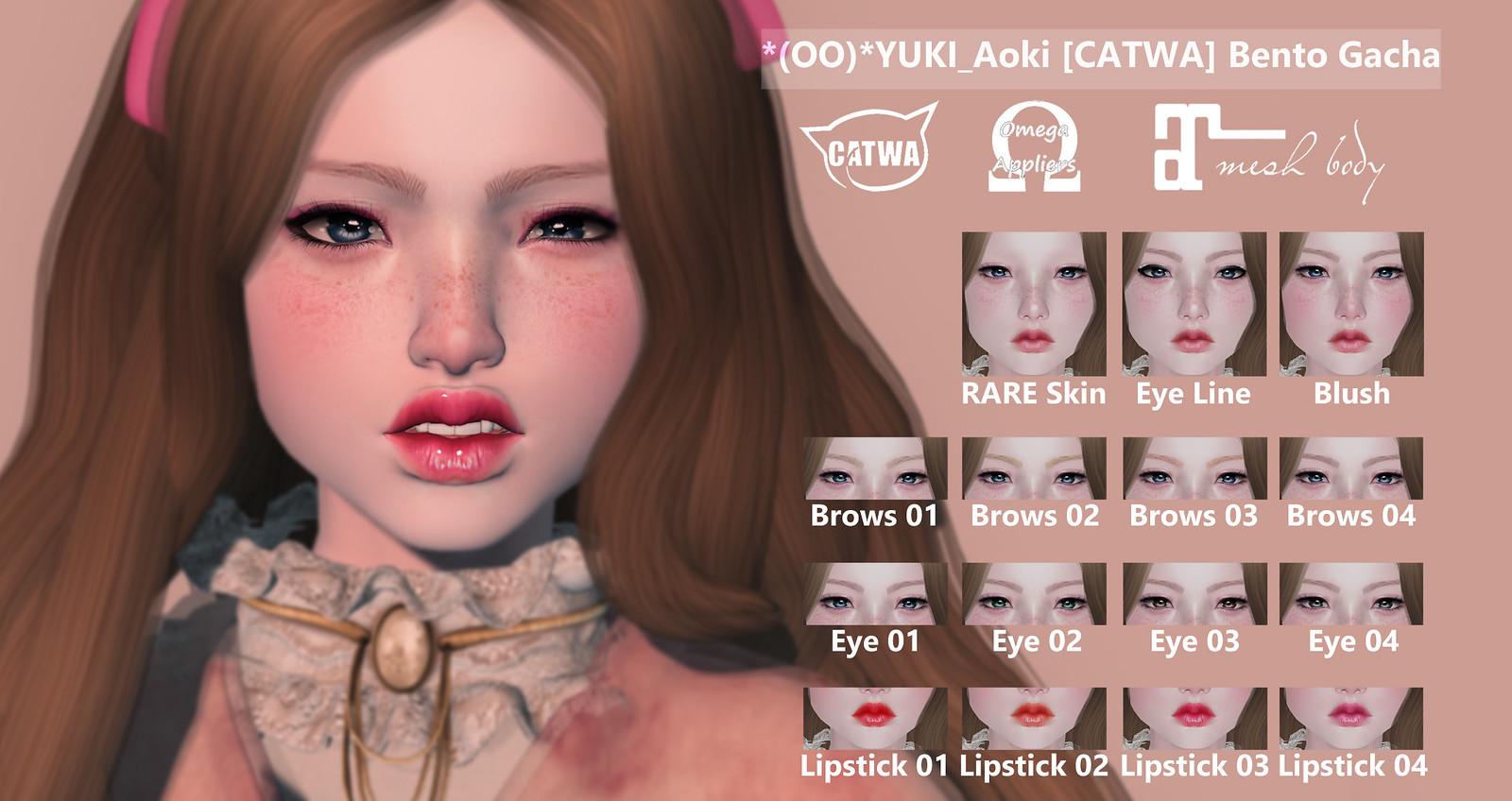 *(OO)*YUKI_Aoki Bento [CATWA]