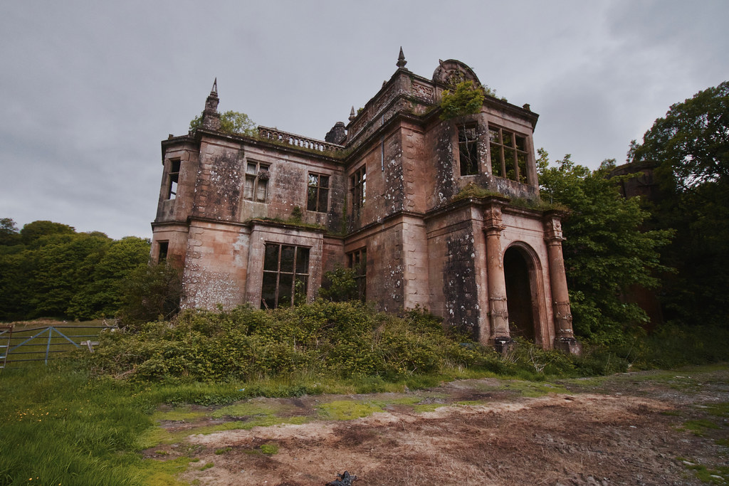 poltalloch house abandoned victorian mansion in scotland flickr