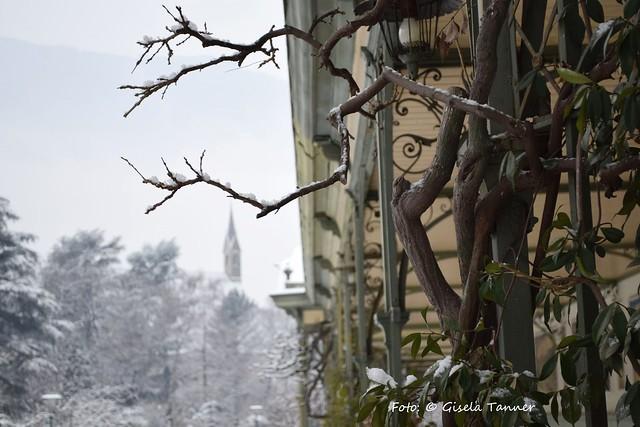 Winterliches Meran Südtirol