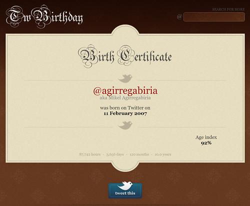 10 años de Twitter