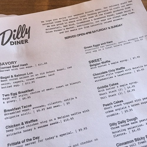 Dilly Diner in #Tulsa #localfood
