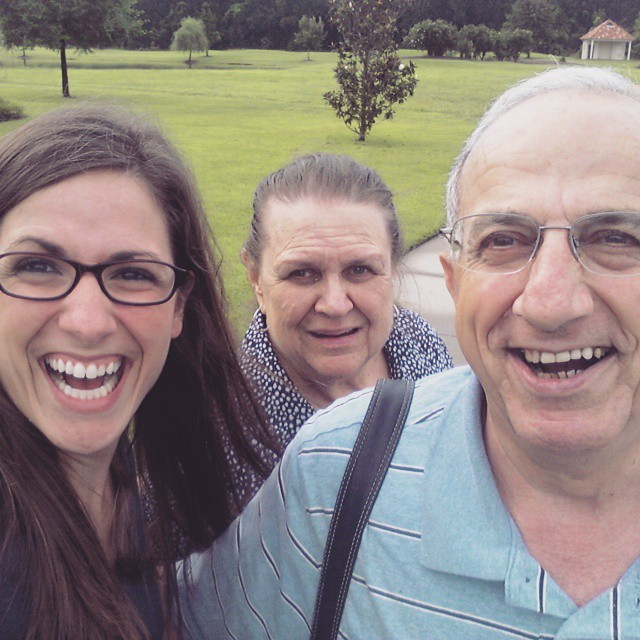 Uncle Mike & Aunt Rina's first selfie!