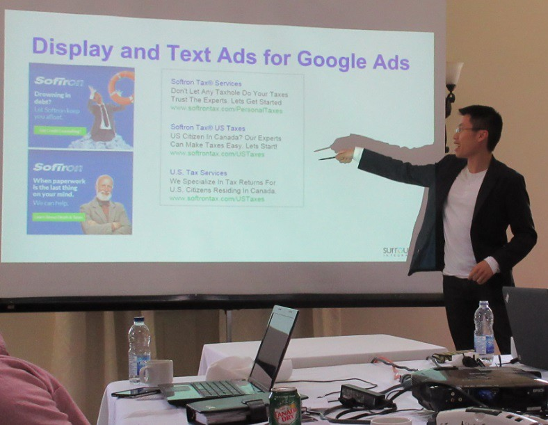 Max discusses Google AdWords display advertising
