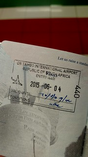South Africa Entry Stamp | by BertoUCF