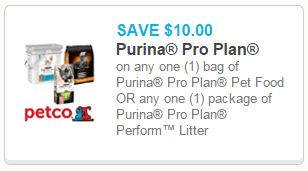 photograph relating to Purina Pro Plan Printable Coupons identified as $10/1 Purina Qualified Program Doggy Food stuff Printable Coupon!