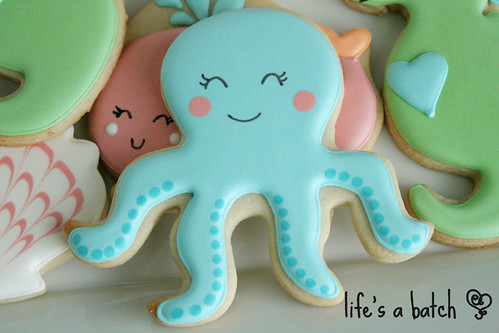 Octopus cookie.
