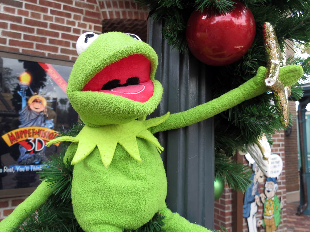 Kermit the Frog | MuppetVision 3D, Disney\'s Hollywood Studio ...