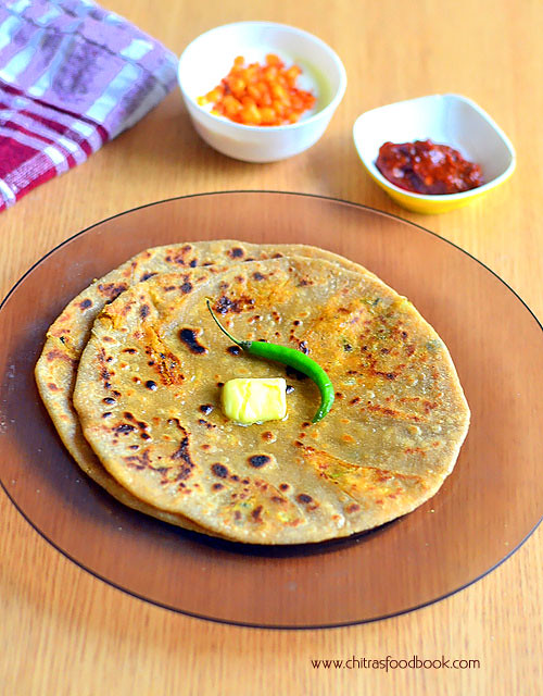 Gobi paratha recipe with step by step pictures