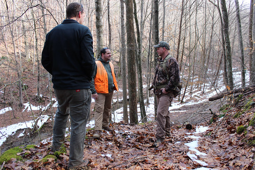 This project brings together many partners to assist landowners, including the National Wild Turkey Federation and West Virginia Department of Forestry. Photo by Kyle Aldinger.
