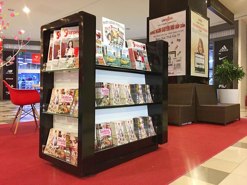 Điểm đặt Tạp chí Unimedia tại TPHCM