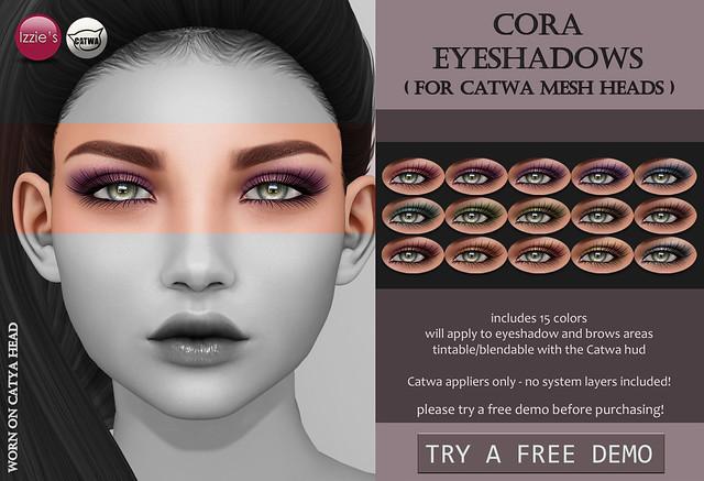Cora Eyeshadows (Catwa)
