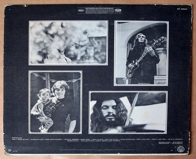 "QUICKSILVER MESSENGER SERVICE 1st ALBUM 12"" LP VINYL"