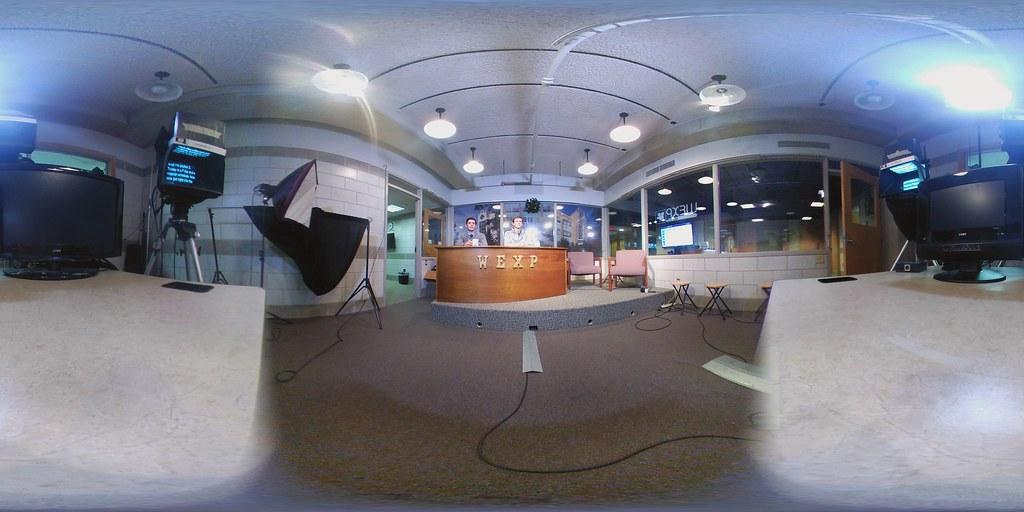 WEXP TV Studio