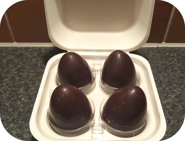 M&S Single Origin Chocolate Ganache & Salted Caramel Filled Eggs