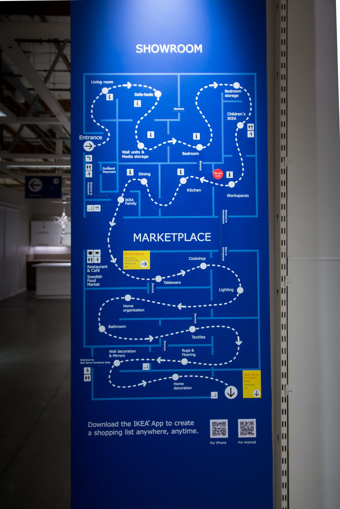 Ikea renton old store last day store map atomic taco for Ikea bellevue washington