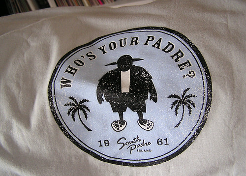 Who's Your Padre Official Seal .01 | by Howdy, I'm H. Michael Karshis