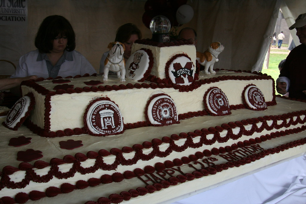 Msu Birthday Cake Mississippi State University S 128th