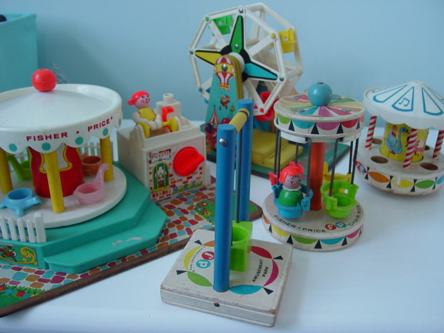 Fisher Price Amusement Park | These are the oldest Fisher Pr… | Flickr