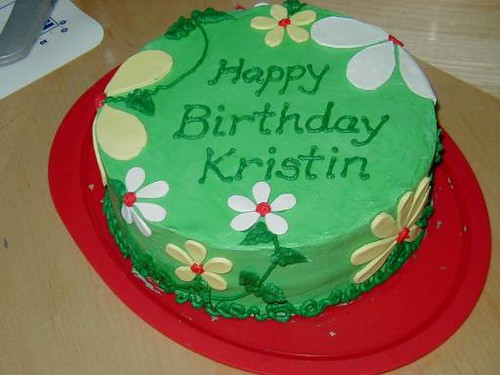 Happy Birthday Cake Kristen