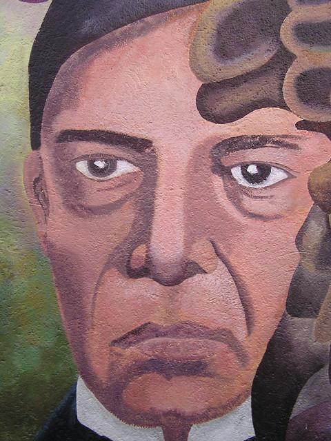 Benito ju rez guelatao mural ron mader flickr for Benito juarez mural