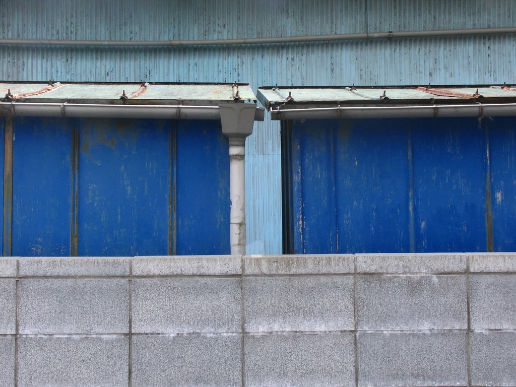 blue wall minami honjuku asahi ku yokohama lioil flickr