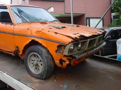 rusty 1971 Mitsubishi Colt Galant GTO | MR DOHC only 836 ...