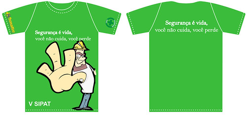 V SIPAT - Camiseta Verde | Estampa de camiseta elabora ...