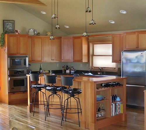 Superbe ... MaureenShaughnessy CVG Fir Kitchen With Fireslate Countertops | By  MaureenShaughnessy