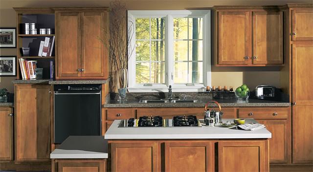 Kitchen Cabinet Sample Merillat Sundale Cabinets Maple