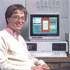 Bill Gates selling windows | by niallkennedy
