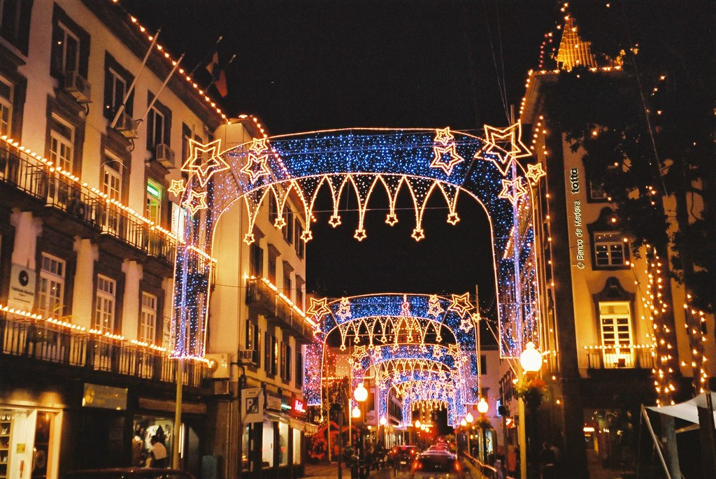 christmas decorations in funchal madeira by paul stephenson - Christmas In Portugal