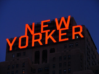 [2005] New Yorker Hotel's Sign... | by Diego3336