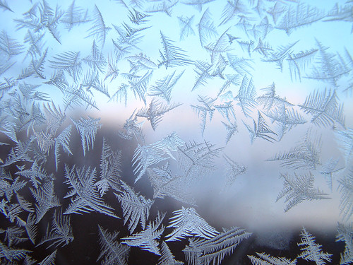 Frost on the window of my grandparents house | by roddh