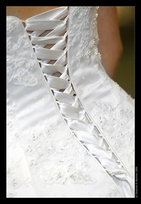 Gown detail bridal wedding dress detail louisville for Wedding dress dry cleaning denver