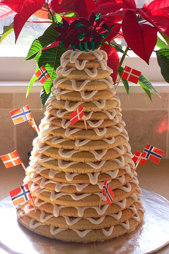 Kransekake A Danish Norwegian Wedding New Year S