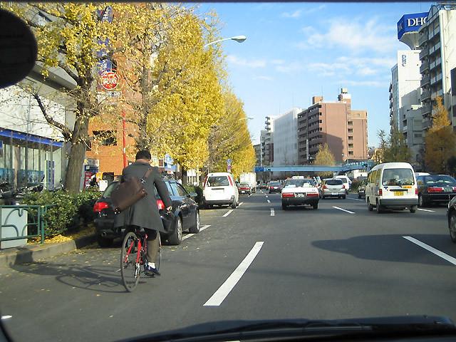 drive Tokyo morning