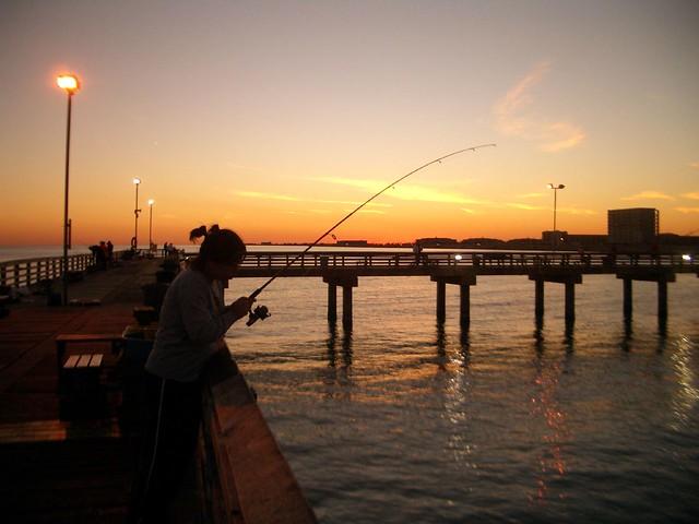 Galveston fishing pier becky lai flickr for Galveston fishing pier report
