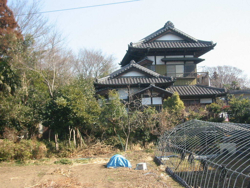 Japanese style house an old style japanese house for Asian houses photos