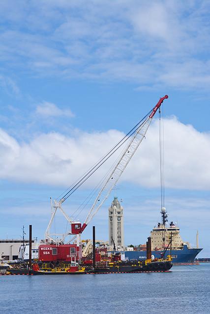 work on Pier 15